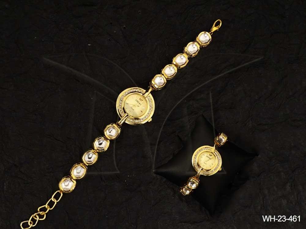 Kundan jewellery Watches