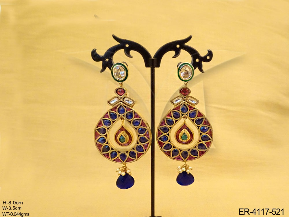 Kundan jewelry Earrings