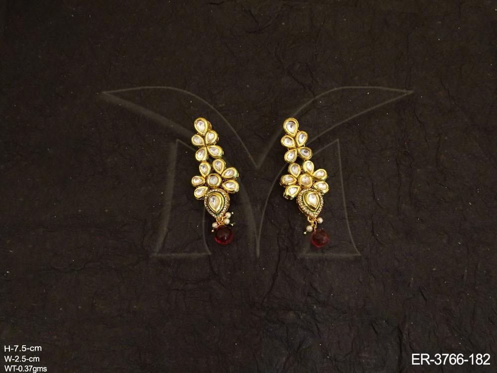 Kundan Jewellery Earrings