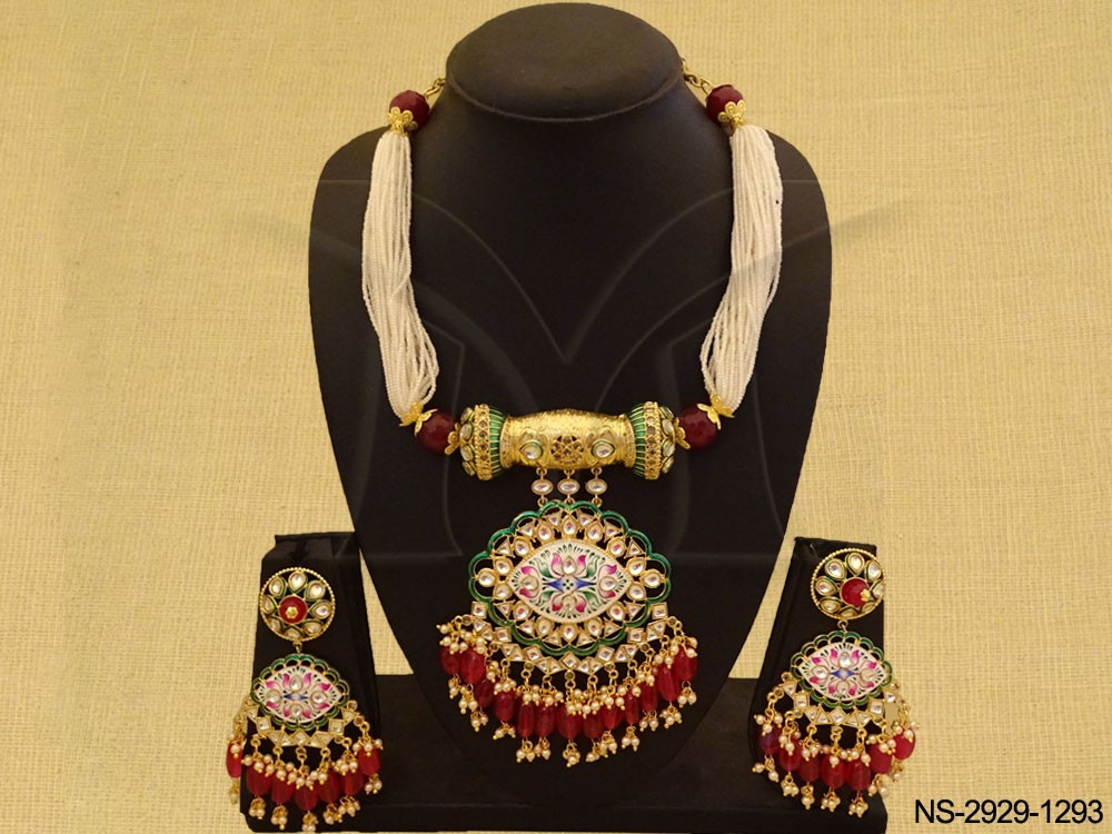 Traditional kundan jewelry Necklace