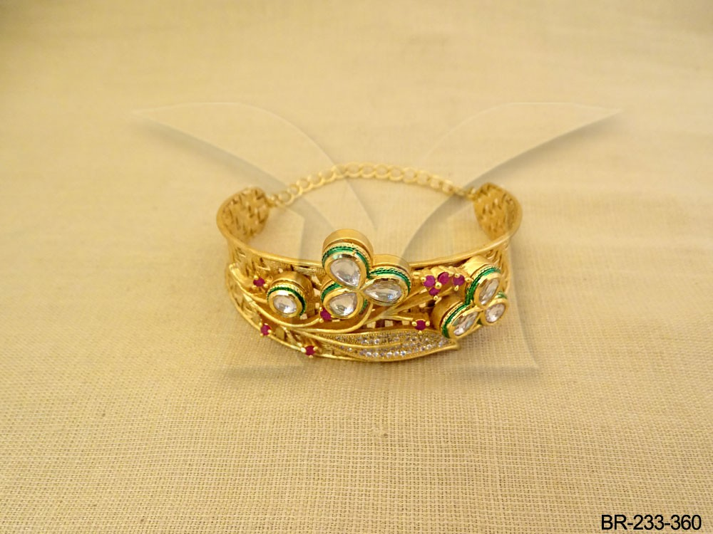Traditional Kundan Jewellery Bracelets