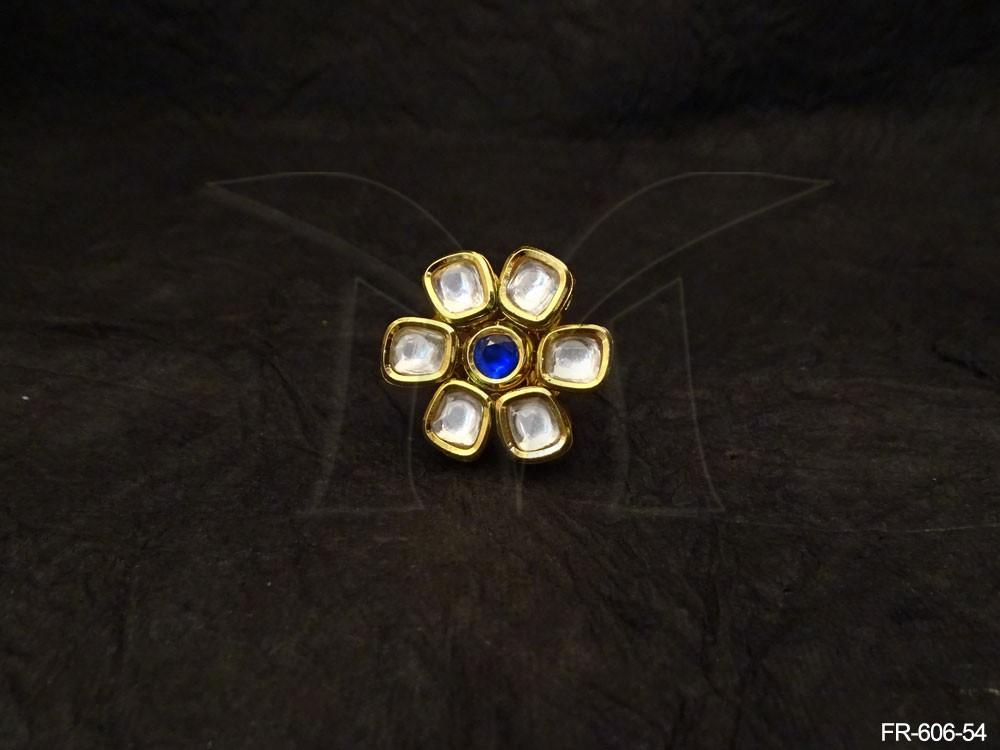 Kundan jewellery Finger Rings