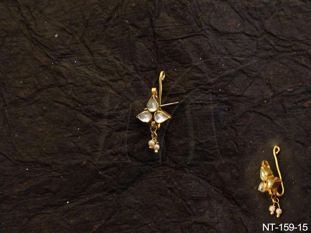 Kundan jewellery Nath