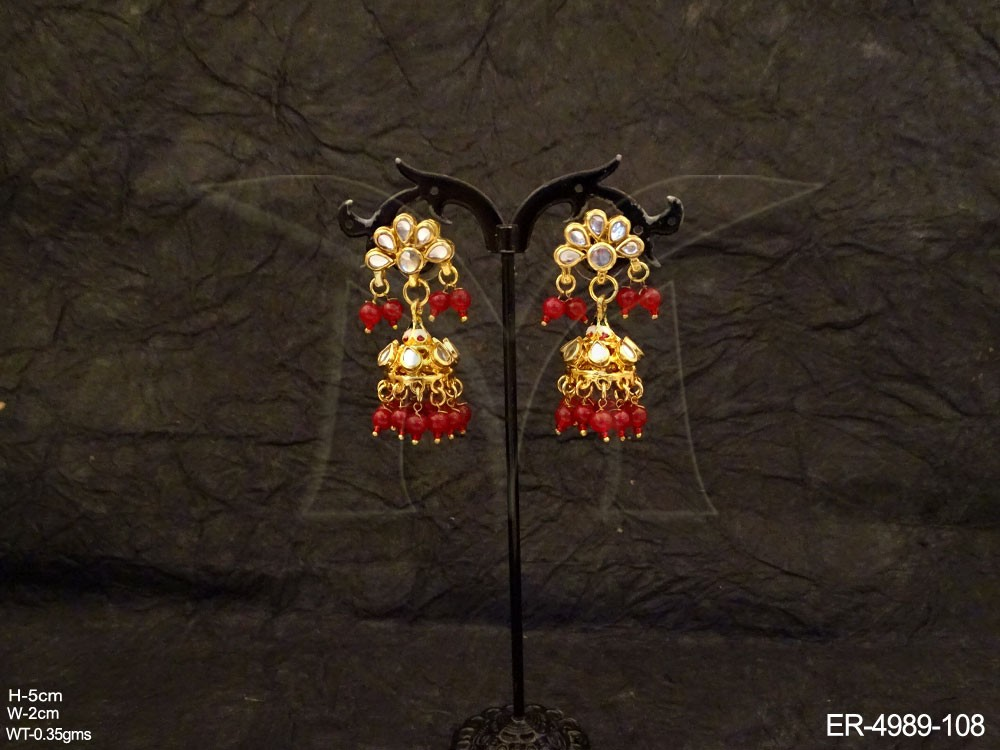 Kundan jewellery Earrings Set