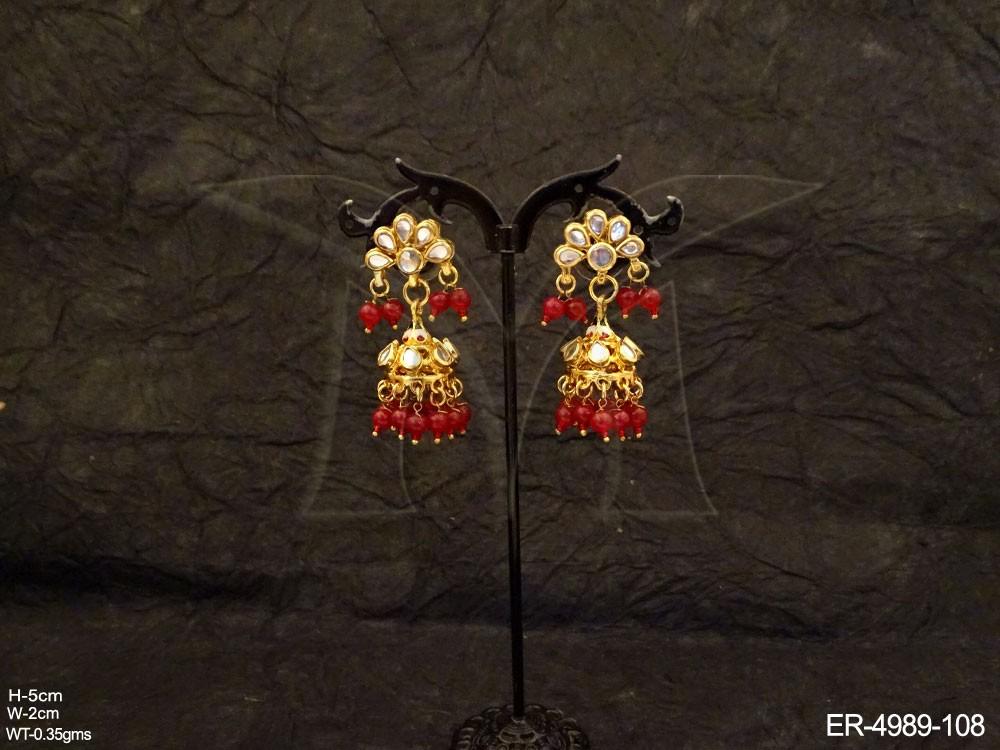 Kundan jewellery Earrings Set
