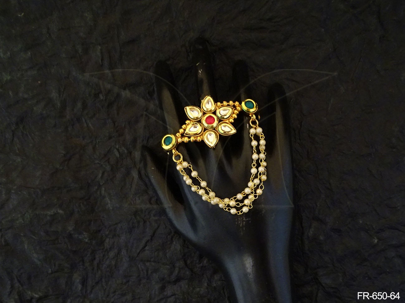 Kundan Jewellery Finger Ring