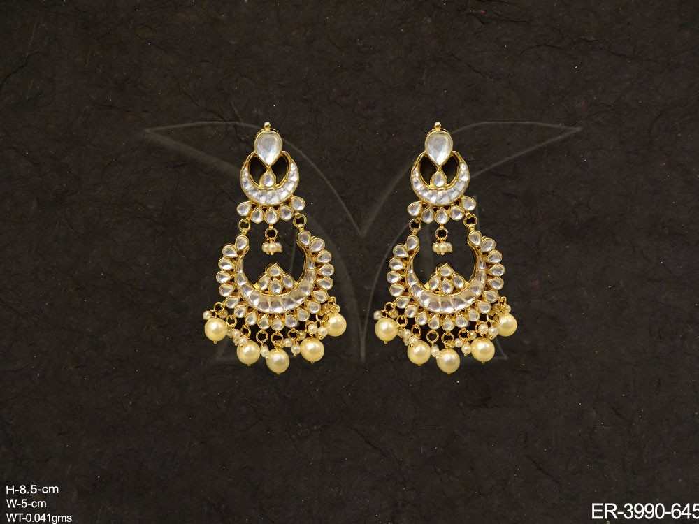 Kundan Jewellery Earrings