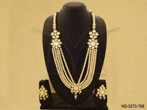Full Stone Layered Kundan Necklace