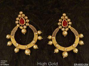 Chand Bali Kundan Earrings